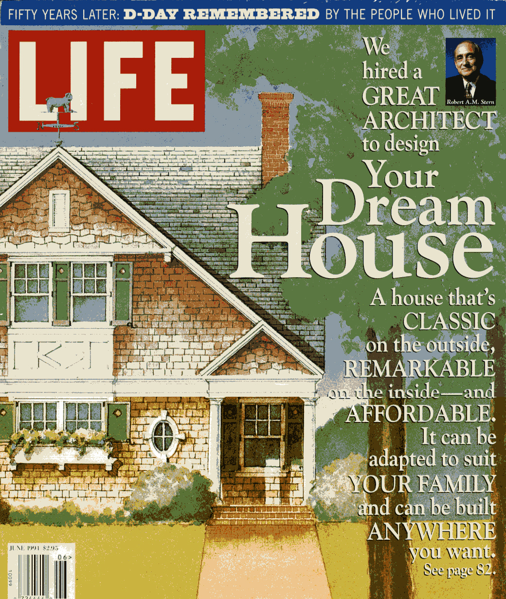 Life magazine dream house robert a m stern for Dream homes magazine